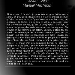 AMAZONES / Manuel Machado